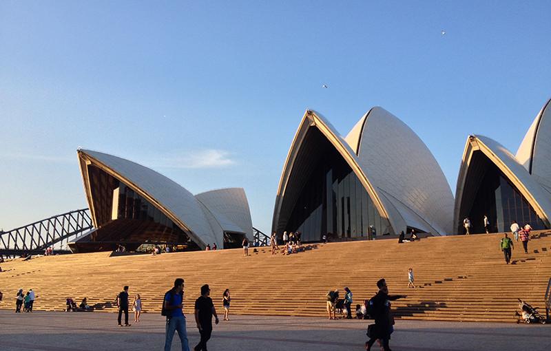 Stěhování do Sydney