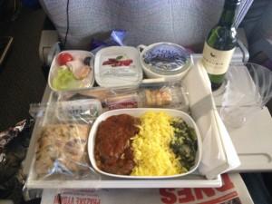 Jídlo u Emirates