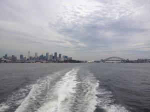 Sydney z vody