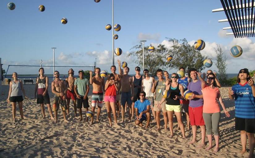 Beachvolejbal v Cairns