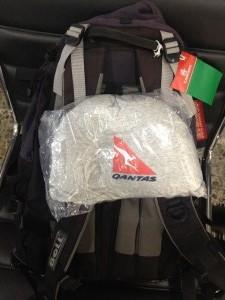 Nouzový balíček od Quantas