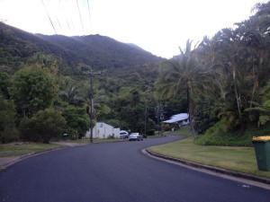 Vilová čtvrť v Cairnsu