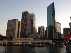 Mrakodrapy na Circular Quay