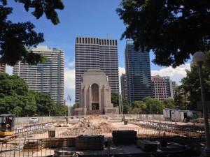 Anzac Memorial v Hyde Parku